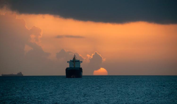 Solnedgång och havsutsikt, Willemstad