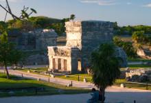 Header Tulum Maya Ruiner, Mexiko