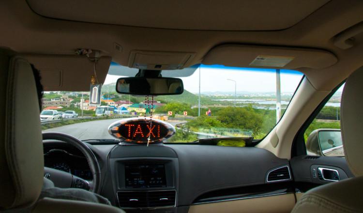 Taxiresa i Willemstad, Curacao