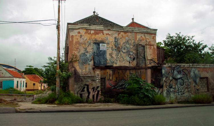 Hus i Willemstad, Curacao