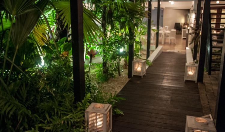 Lummig miljö med trevlig belysning, Floris Suite Hotel i Willemstad, Curacao
