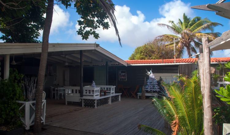 Restaurang och reception, Sorobon Beach Resort, Bonaire