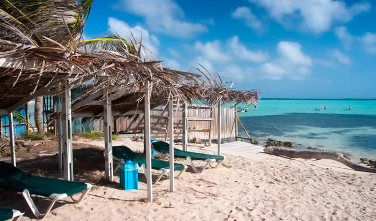 Förmiddagssol på Sorobon Beach Resort, Bonaire