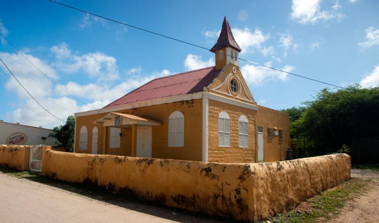 Gammal kyrka i Rincon, Bonaire