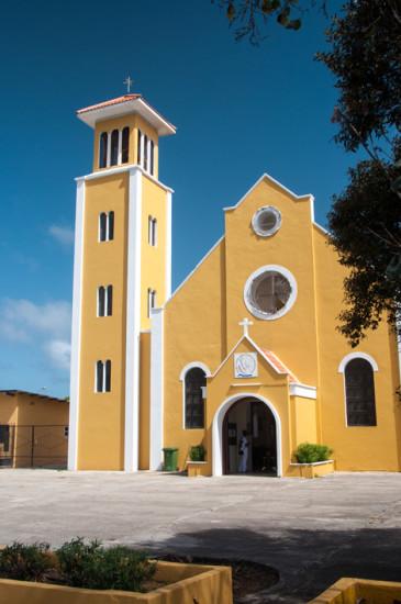 Ny kyrka i Rincon, Bonaire