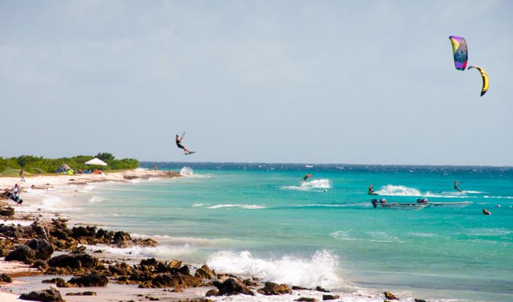 Kitesurf på Bonaire