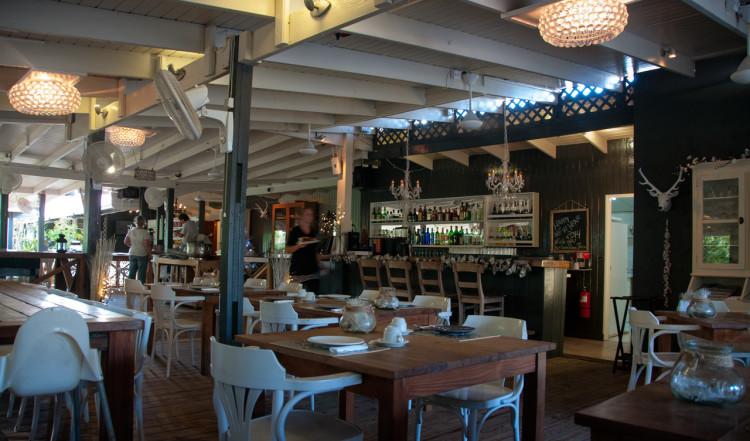 Restaurangen på Sorobon Beach, Bonaire