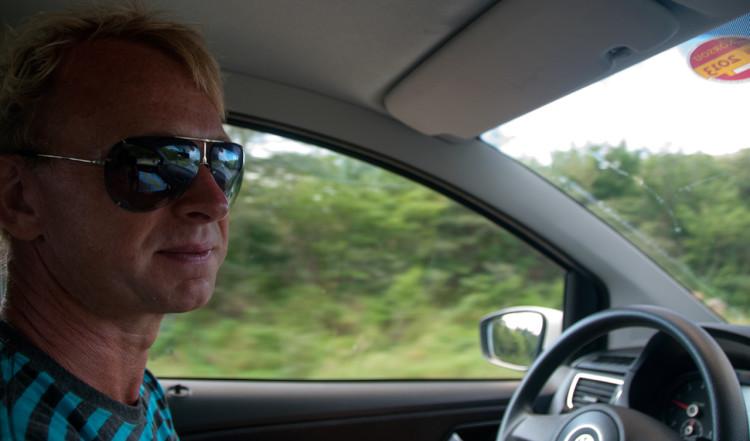 Vi påbörjar vår utflykt runt Curaçao
