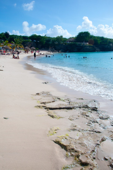 Playa Kenepa Grandi strand