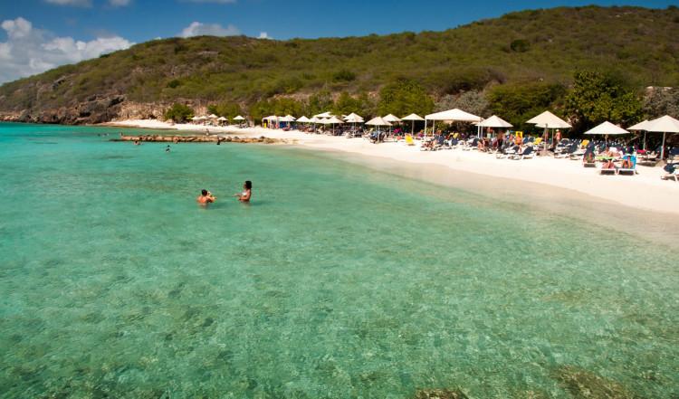 Pittoresk och underbar strand - Playa Porto Mari, Curaçao