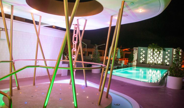 Högst upp på Dream South Beach Hotell i Miami