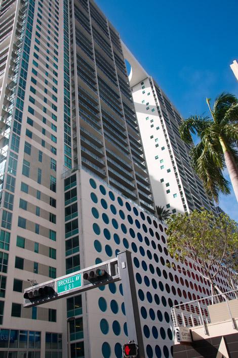 Skyskrapor i Downtown Miami