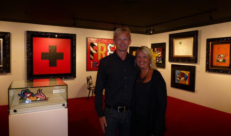Inne på Romero Britto Gallery i South Beach, Miami