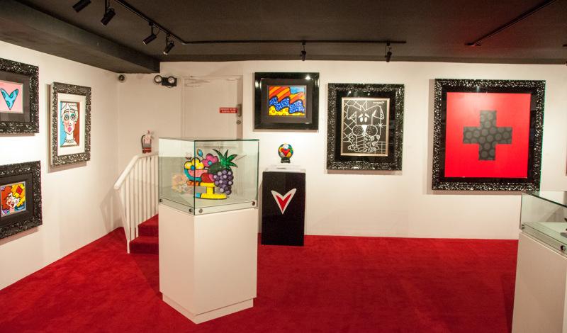 Romero Britto Gallery i South Beach, Miami