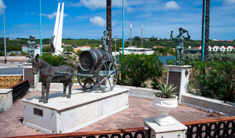 Staty, centrala Willemstad, Curacao