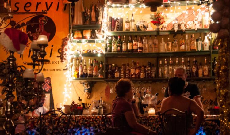Unik och charmig inredning, Café & Restaurant Mundo Bizarro, Willemstad