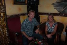 Anki & Lasse på Café & Restaurant Mundo Bizarro, Willemstad