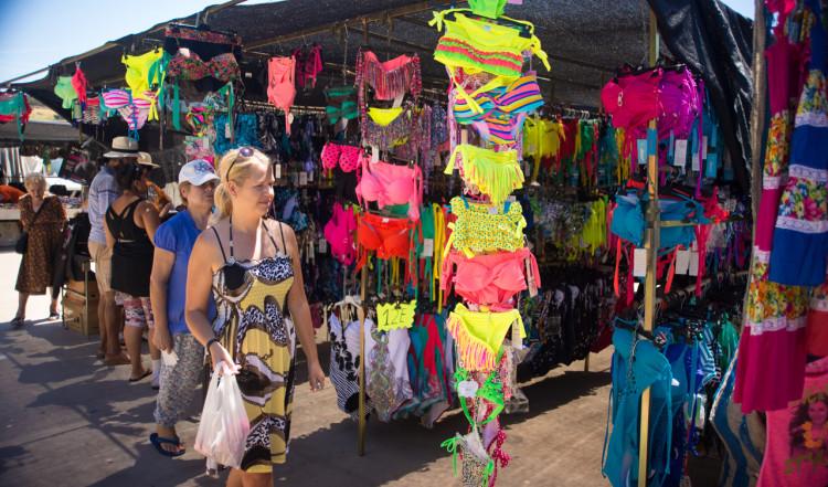 Anki på Manilvas marknad