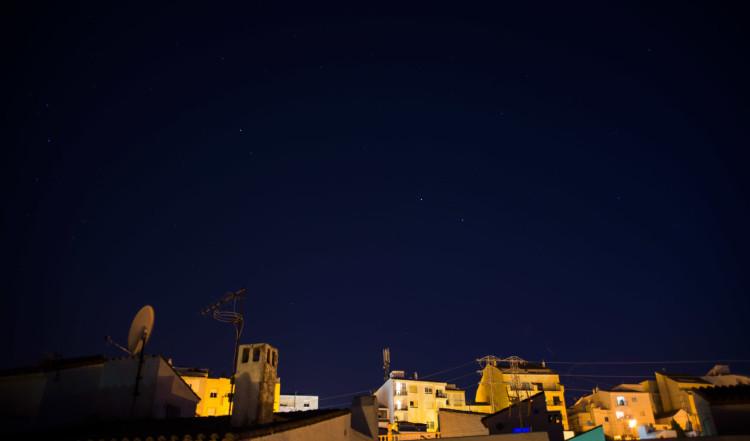 Stjärnklar natt i Manilva