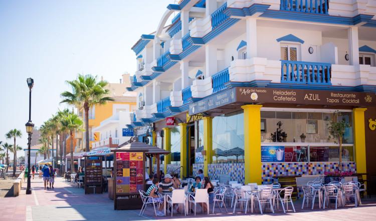 Cafeteria Azul, Sabinillas