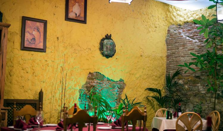 Ramos restaurang i Sabinillas