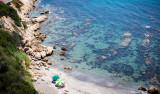 Sol & bad på Punta Chullera strand