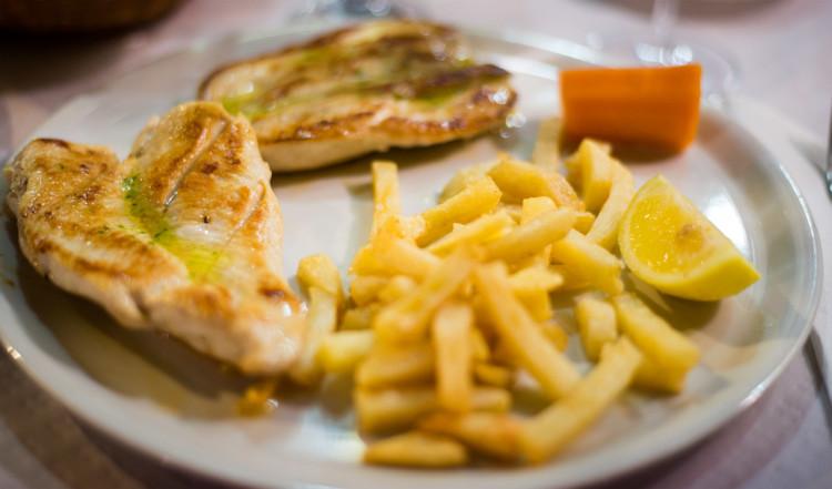 Middag på El Gavilan del Mar, Estepona