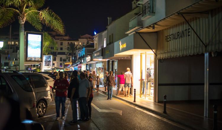 Nattliv i Puerto Banús