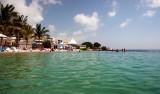 Underbar dag i solen på Papagayo Beach Club i Curacao