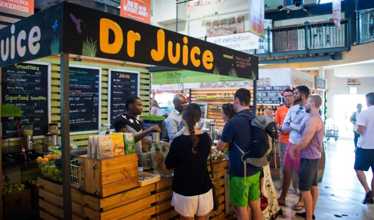 Dr Juice serverar fantastiska nypressade juicer och smothies