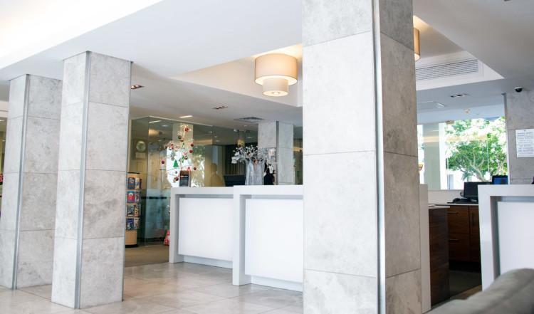 Receptionen på Protea Hotel Breakwater Lodge, Kapstaden