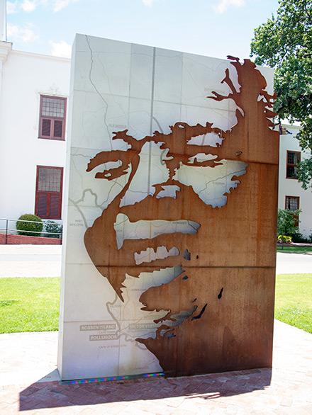 Nelson Mandela Square i Stellenbosch
