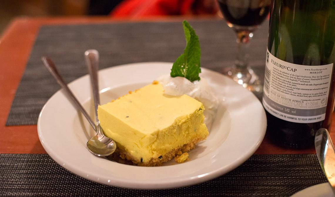 Smarrig dessert på Dixies Restaurant & Bar