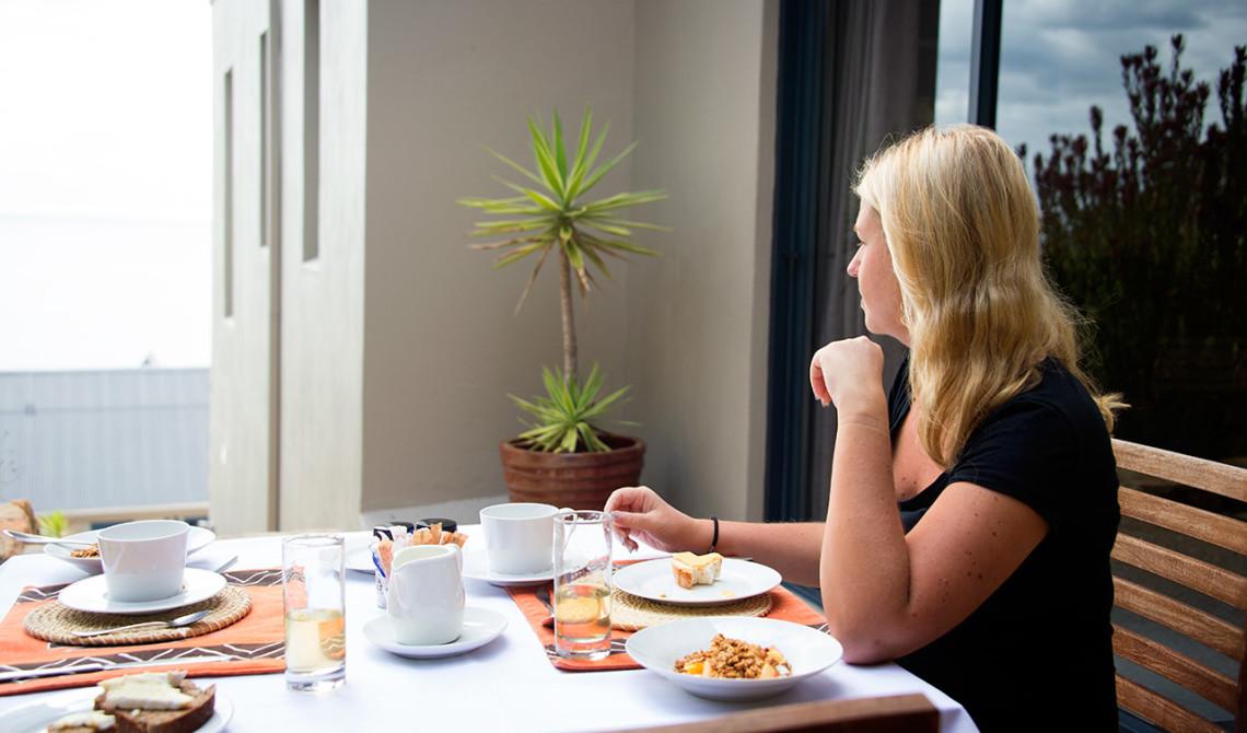 Frukost på Simons town Guest House