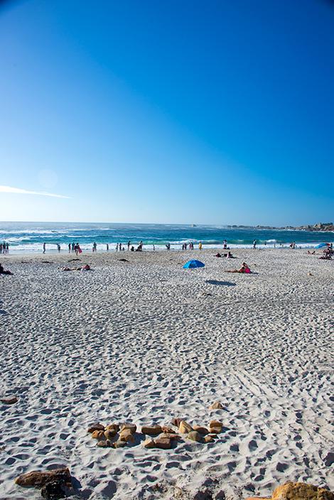 Camps Bay strand, Sydafrika