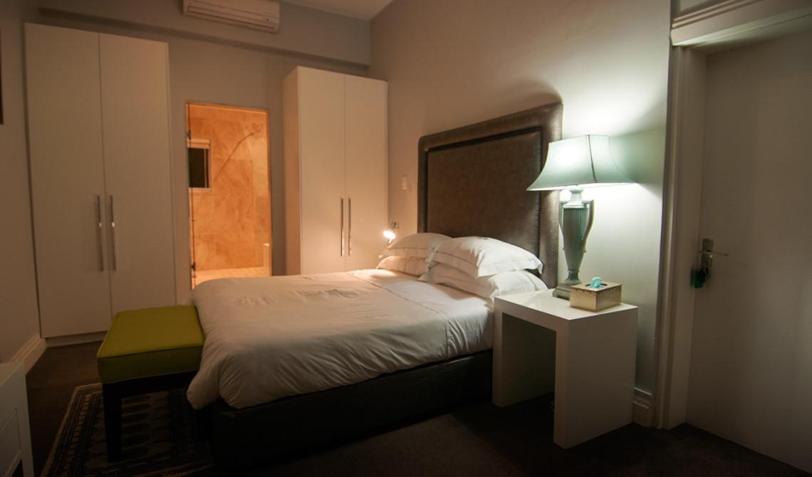 Sovrum på Veto Villa i Camps Bay, Sydafrika