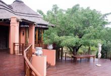 Huvudbyggnaden till Thanda Private Game Reserve