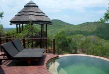 Pool på terassen, Thanda Safari Lodge, Thanda Private Game Reserve