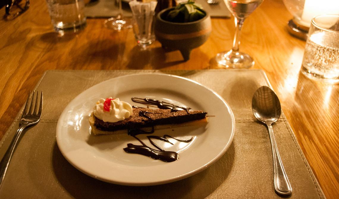 Dessert på Thanda Private Game Reserve