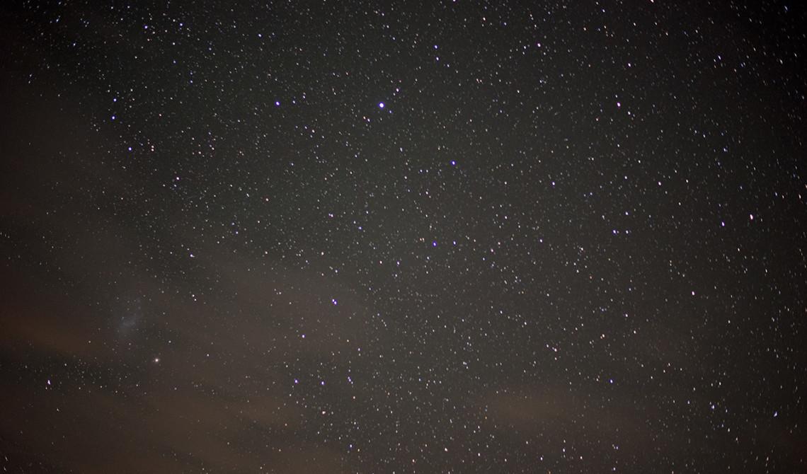 Stjärnklar natt ovanför Thanda Tented Camp, Thanda Private Game Reserve