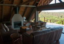 Ovanvåningen på Mavela Game Lodge