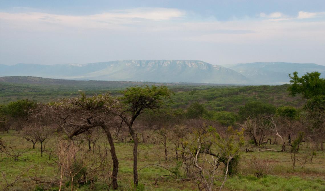 Vy över Ghost Mountain, Lebombo bergskedja