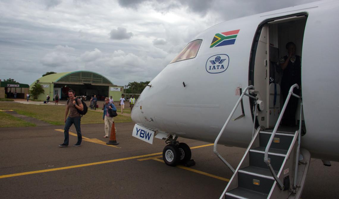 Framme med ZA Express i Port Elizabeth