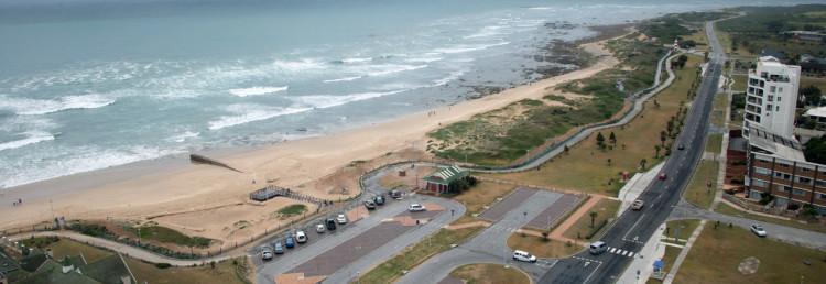 Utsikt från vårt rum på Radisson Blu Hotel, Port Elizabeth