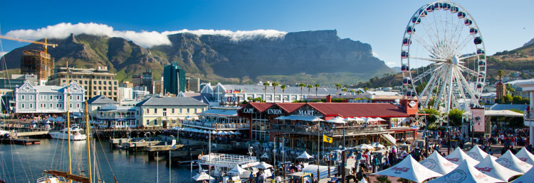 Cape Town South Africa Header
