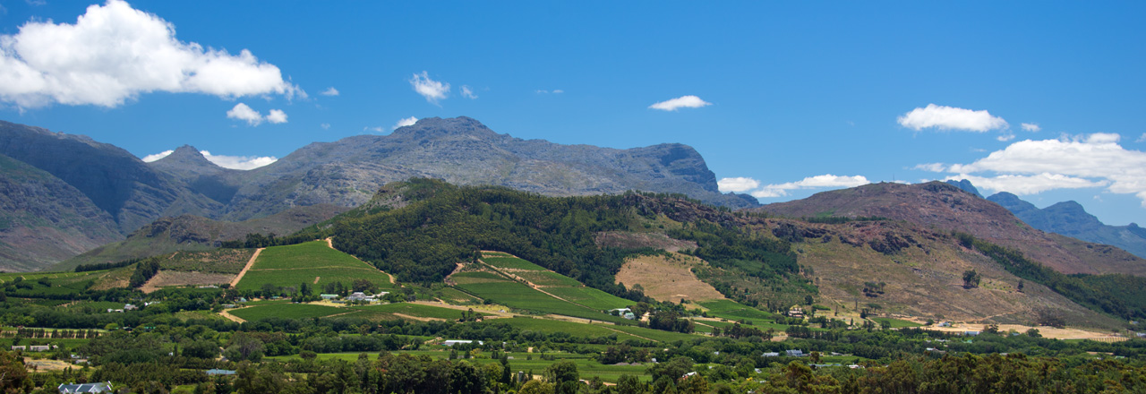 Header Sydafrika, Franschhoek Valley