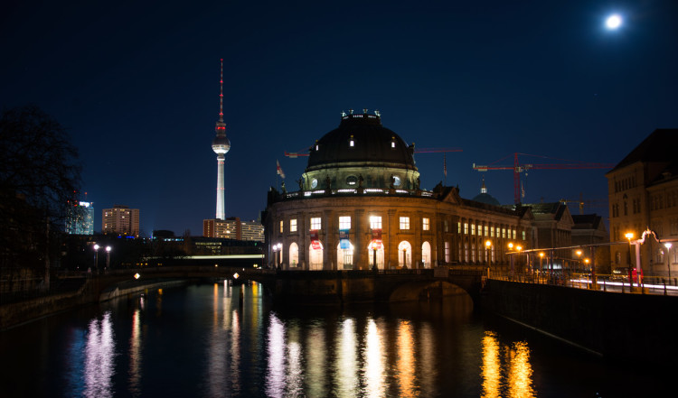 Månsken över Berlin