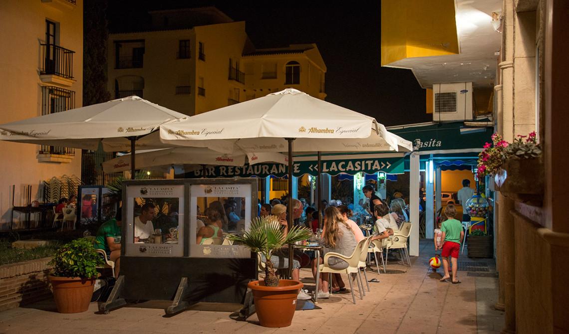 Restaurante La Casita, Sabinillas