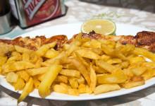Lunch på Chiringuito Paco i Estepona