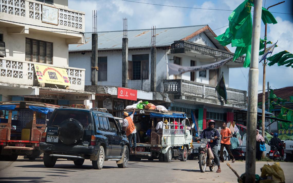 Största staden på Pemba
